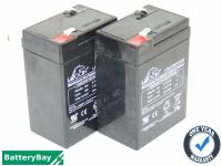 2x Leoch LP6-4.0 - Electric Toy Car Batteries